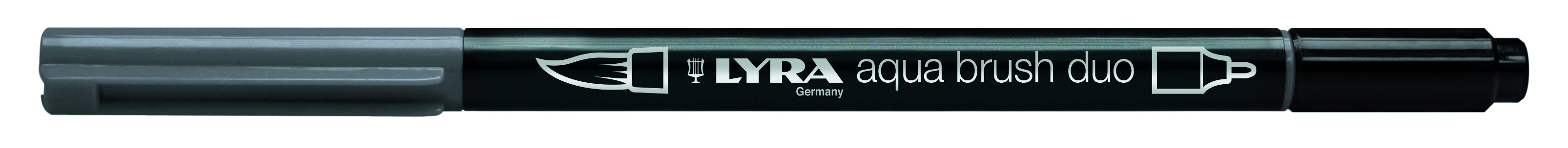 Marker LYRA brush duo, 196 warm grey silver